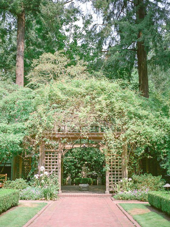 Lakewold Gardens Elopement Beaulieu Garden Hatley Castle Film