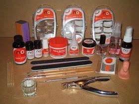 Uñas Acrilicas Y Algo Mas Materiales Basicos Para Uñas Acrilicas Material Para Uñas Acrilicas Acrilicos Para Uñas Diseños De Uñas Mate