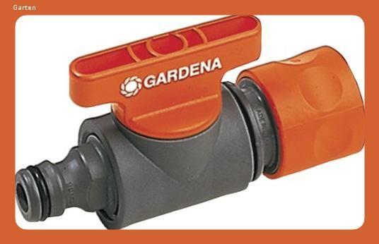 Gardena Regulierventil Mengenventil Zur Unabhangigen Regulierung Und Absperrung Des Wasserdurchf In 2020 Schlauch Wasser Gardena System