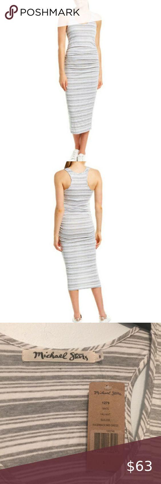 Nwt Michael Stars Racerback Midi Dress Size Small Racerback Midi Dress Michael Stars Midi Dress [ 1692 x 564 Pixel ]