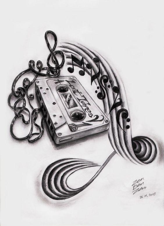 Music Tattoo Designs | MadSCAR