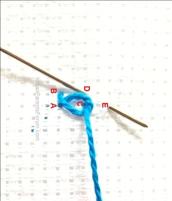 Twisted Chain Stitch - Hand embroidery tutorials