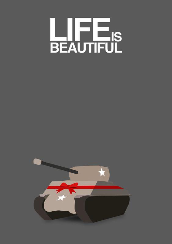 La vita bella life is beautiful 1997 minimal movie for Minimalist living movie
