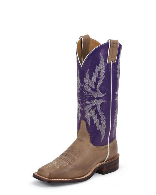 Country Outfitter Justin Tan Vintage Boot BRL337 comes in wide ...