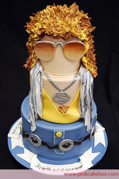 Bon Jovi celebaration cake
