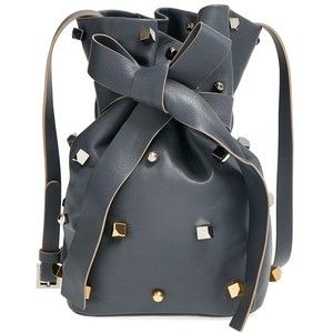 Jimmy Choo 'Eve' Studded Bucket Bag