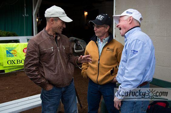 Gary Stevens, Pat Day, Chris McCarron.