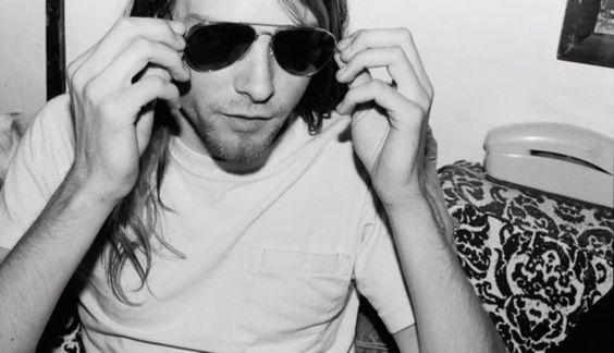 Kurt Cobain in Olympia, WA, 1989 Nirvana
