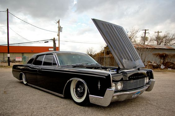 bagged 1966 lincoln continental blacked out pinterest flats lush and lincoln. Black Bedroom Furniture Sets. Home Design Ideas