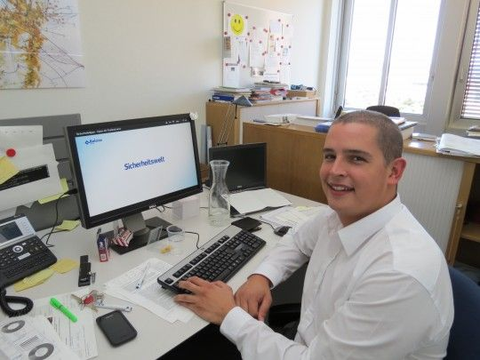 Roberto Brunazzi erzählt von seinen ersten sechs Monaten Praktikum im Team Media Relations (Corporate Communication) der Baloise.