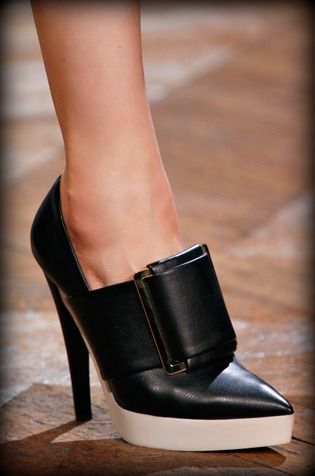 Love these shoes from Stella McCartney, Fall 2012. #fashion #shoes