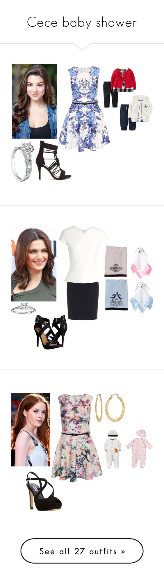 """""""Cece baby shower"""" by charmedgreys ❤ liked on Polyvore featuring Nly Shoes, Boutique Moschino, Roland Mouret, Michael Antonio, Blue Nile, Dune, Fragments, Lord & Taylor, baby and kids"""