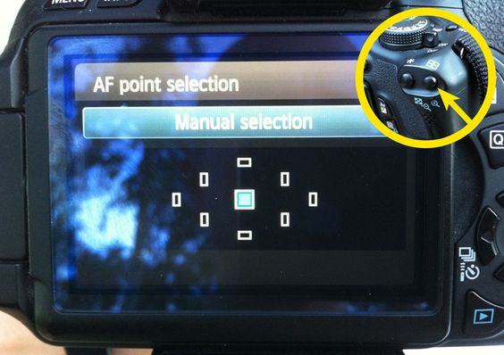 Turn off all auto-focus points except the center one