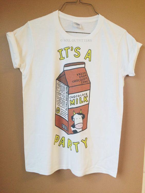 Hey, I found this really awesome Etsy listing at https://www.etsy.com/listing/246726205/chocolate-milk-party-t-shirt-design-by