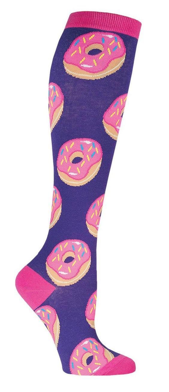 Donut Knee High Socks