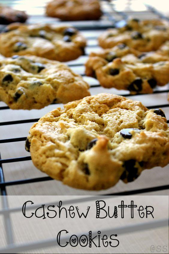 Cashew Nut Butter Cookies. Gluten Free!