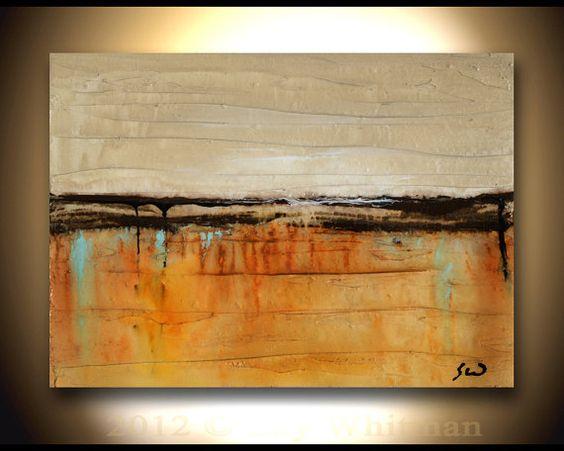 Original Modern Art Textured Palette Knife by originalmodernart, $49.00
