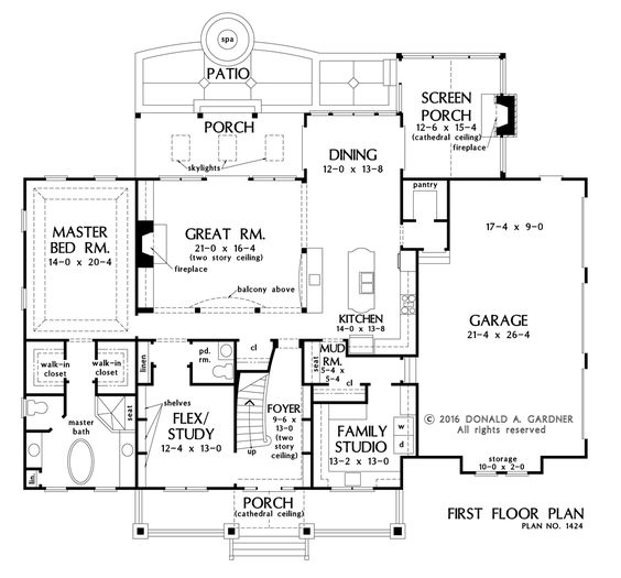 HOME PLAN 1424 – NOW AVAILABLE! | Square columns, Island kitchen ...