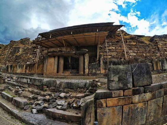Huaraz offers the option to visit Chavin de Huantar.