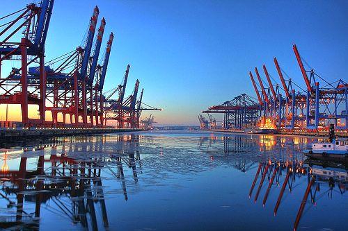 Port de Hambourg — Wikipédia
