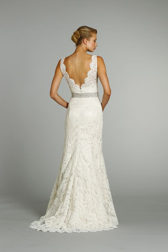Simple Lace, pretty back