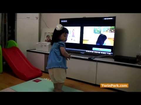 율동하는 예린이 [삼성 스마트TV] (Ye rhythmic [Samsung Smart TV])