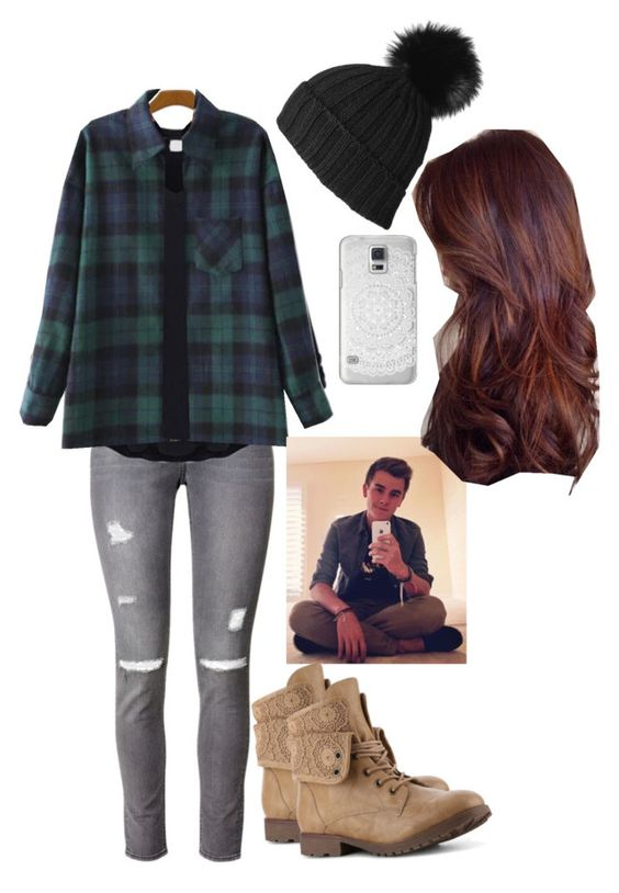 """""""Matching Connor >•"""" by amani-carroll on Polyvore featuring H&M and Casetify"""