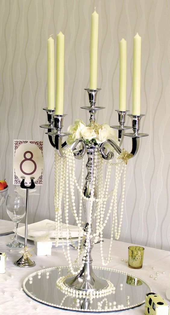 7-brilliant-budget-buys-for-a-vintage-wedding-theme-Photo-7-(Belton-Candelabra)