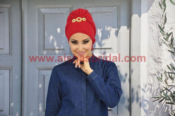 Ready To Wear Hijab  Code: HT-0240  Hijab Muslim by HAZIRTURBAN