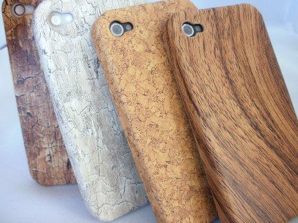 iPhone wooden cases