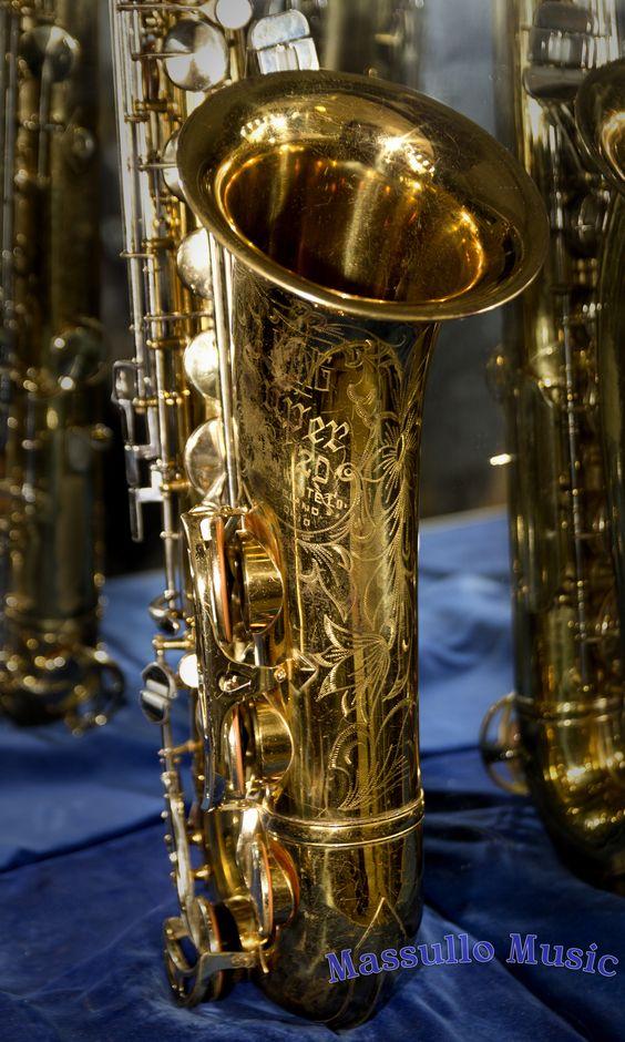 King Super 20 Tenor Saxophone