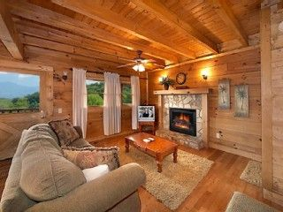 2BR Cabin- Fireplace, Hot Tub, Jacuzzi, Pool Table, WifiVacation Rental in Gatlinburg from @homeaway! #vacation #rental #travel #homeaway