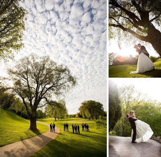 Wedding portraits at Oneida Country Club in Green Bay, Wisconsin.   http://markhawkinsphoto.com