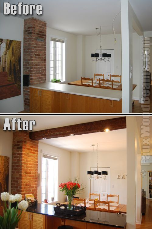 Adding Wood Beams To Ceiling Kitchen Smart Design Adding Wood