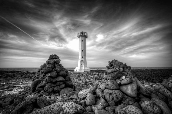 A lighthouse by Matthew Lamers, via 500px.