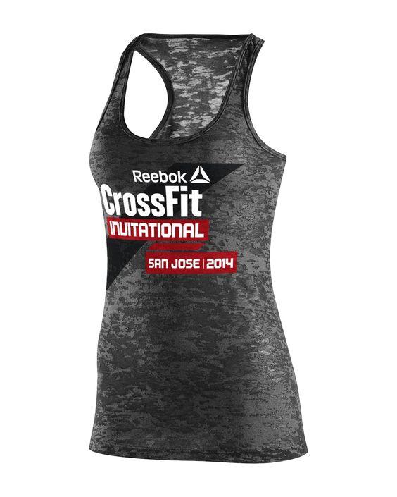 Her 2014 Reebok CrossFit Invitational Event Tank