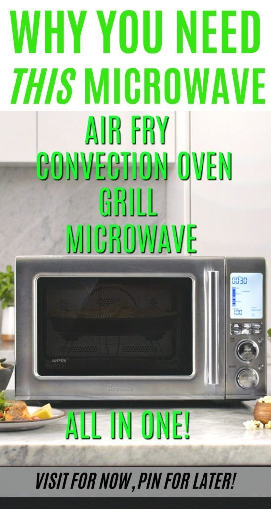 The Breville Microwave Convection Oven Combo Is Truly An All In