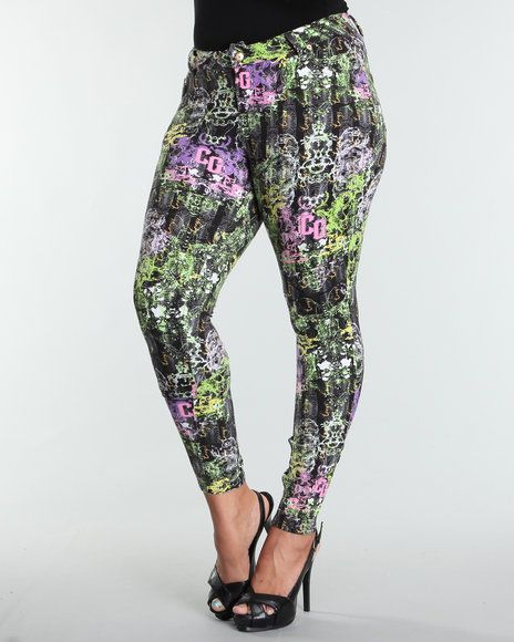 Plus Size Leggings - Full Figure Plus
