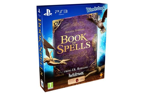 Book of Spells, the new Playstation 3 game for Harry Potter fans