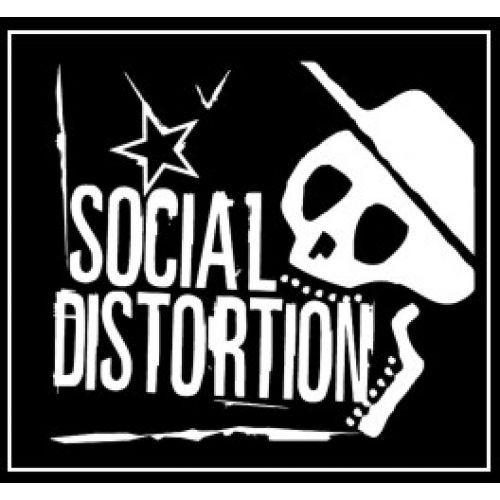 Social Distortion - skeleton + star