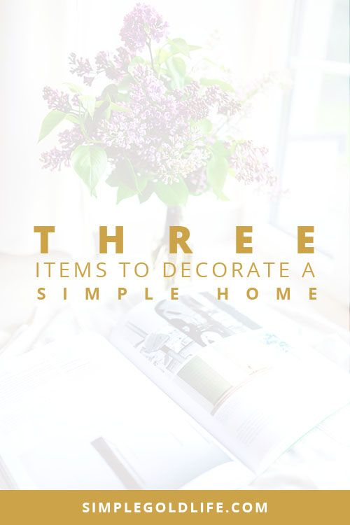 When you're simplifying your home it may be difficult to add decor without over doing it. Use these 3 simple rules to decorate a simple home. Guest Blog By Renee-Claude Gratton from mauveinteriors.com  - minimalist decorating, home decor, simplified home,