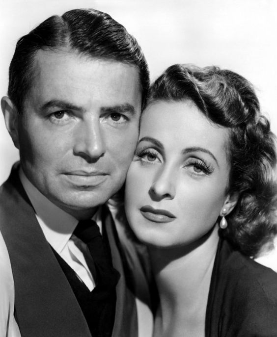 James Mason and Danielle Darrieux