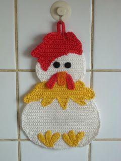 Chicken Potholder: