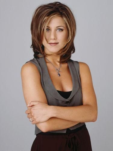 """The Rachel"" Haircut (1994)  She looks great."