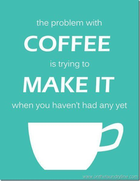 Coffee make it