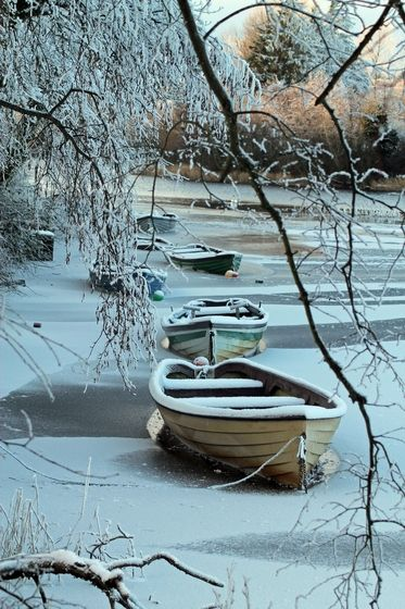 I wouldn't mind visiting someplace cold, but living there is setting different