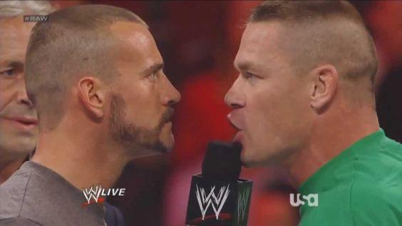 WWE RAW John Cena speaks French in Montreal Canada ( John Cena parle Fra...