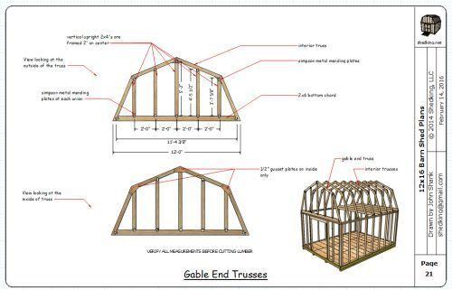 12x16 Barn Plans Barn Shed Plans Small Barn Plans Barn Plans Small Barn Plans Shed Plans 12x16