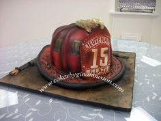 firefighter grooms cake - Google Search