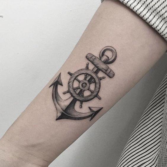 Mann unterarm anker tattoo 50 einzigartige